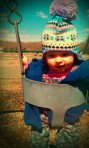First ride n the swings at the park 3/22/14