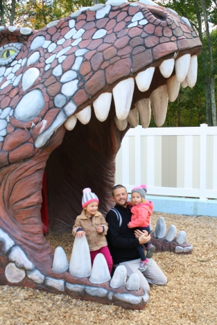 The end of the dino maze...