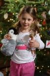 Fi's penguin and ballerina!