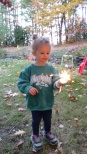 sparklers and s'mores one night