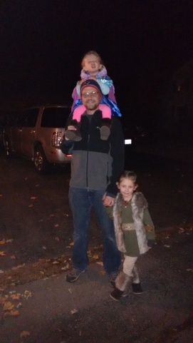 Out trick-or-treating!