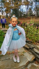Fi's dress up day at ballet